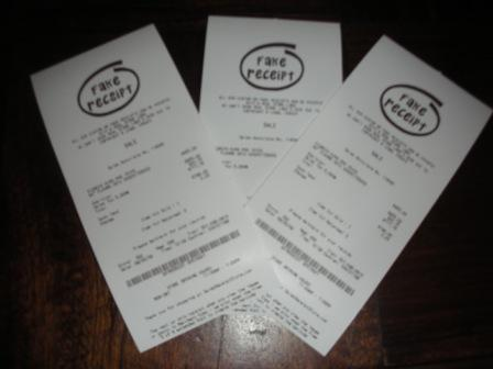"All receipts can be printed with logos - 80mm wide store receipts,  3-1/8"" wide paper"